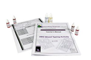 Innovating Science Abo Blood Typing Kit Is3100 Simulated Blood