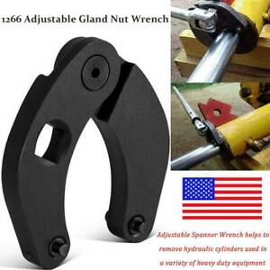 Adjustable Gland Nut Wrench 1266 Pin Spanner Tools Fit For Hydraulic Cylinder