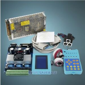 Cnc Kit With Tb6560 3 Axis Set Standard Version Driver Board Hb Motor psu