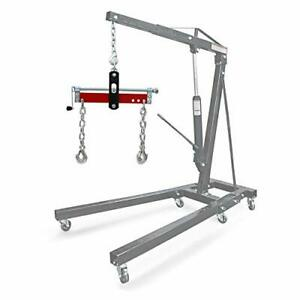 Hydraker 1600lbs Engine Load Leveler Engine Hoist Shop Crane Accessory