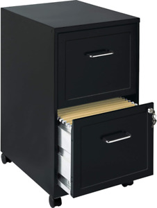 Lorell File Cabinet Black