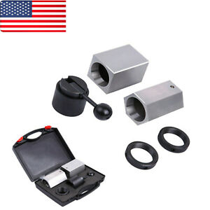 5c Collet Block Set Square Hex Rings Collet Closer Holder Kit With Case