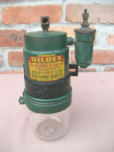 Vtg Oildex 700 Oil Dilution Extractor Filter Pump Motor Economy Products Hot Rod