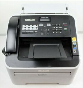 Brother Intellifax 2840 low Page Count High speed Laser Fax Print Copy