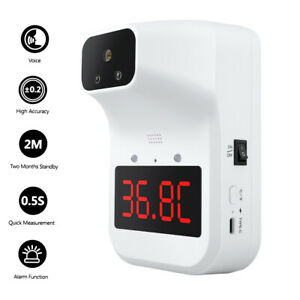 K3 Plus Wall Mounted Non contact Forehead Thermometer Digital Infrared For Adult