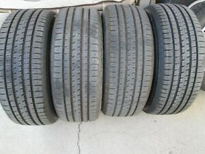 4 New Take Offs 275 55 20 Bridgestone Dueler H L Alenza 55r R20 Tires