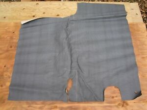 Vintage 1957 1958 1959 Plymouth Trunk Liner Mat Nos