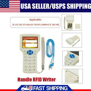 10 Frequency Rfid Copy Encrypted Nfc Smart Id ic Card Reader Writer Duplicator