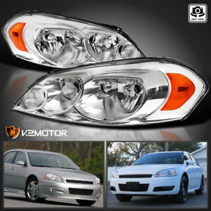 For 2006 2013 Chevy Impala 2006 2007 Monte Carlo Headlights Lamps Left Right