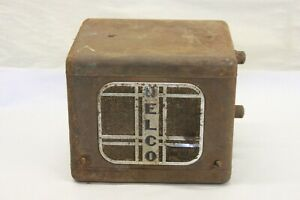 Vintage 1930 S Delco Am Radio Speaker Under Dash Assembly United Motors 632 633