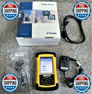 Trimble Recon Pocket Pc W terrasync Software Usb Cable wall Charger Free Ship
