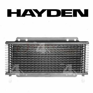 Hayden Automatic Transmission Oil Cooler For 2000 2009 Toyota Tundra Lq