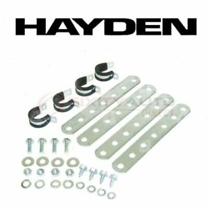 Hayden Engine Oil Cooler Mounting Kit For 1976 1979 Buick Opel Belts Xx