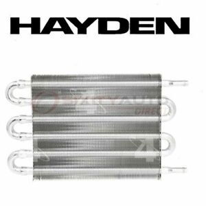 Hayden Automatic Transmission Oil Cooler For 1983 1987 Plymouth Turismo Kf