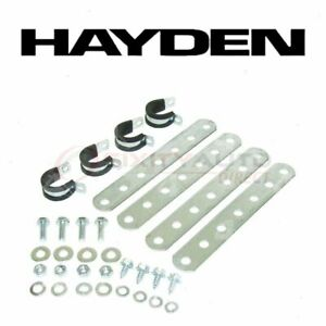 Hayden Engine Oil Cooler Mounting Kit For 1942 Buick Century Series 60 Td