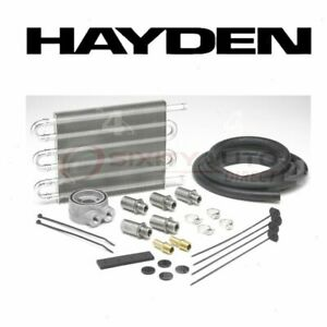 Hayden Engine Oil Cooler For 1993 2015 Jeep Grand Cherokee Belts Cooling Dy