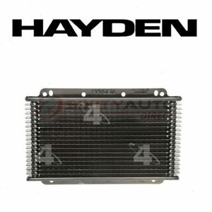 Hayden Automatic Transmission Oil Cooler For 2007 2015 Nissan Versa Sd