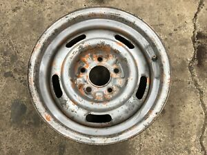 Oem 1969 69 Chevy Camaro Z 28 Yh Rally Wheel 15x7 Dated Original Oct 24th Real