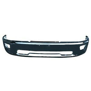 Ch1002386v New Replacement Front Bumper Bar Fits 2009 2010 Dodge Ram 1500