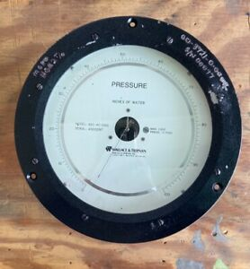 Wallace Tiernan pressure Gauge 0 100 Inches Of Water
