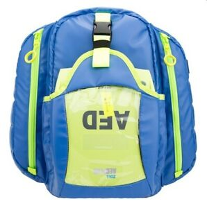 New Statpacks G3 Quicklook Ems Aed Medic Backpack Bag Blue Stat Packs
