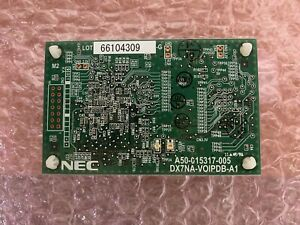 Nec Dx7na voipdb a1 1091044 Dsx 40 80 160 Ip Voip Phone Board 90 Day Warranty