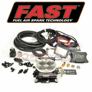 Fast Fuel Injection System For 1971 1989 Detomaso Pantera Air Delivery An