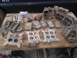 Assorted Holley Carburetor Parts 600 Cfm Used