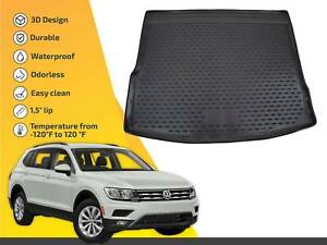 Cargo Liner Tray Floor Mat For Vw Tiguan 2017 Up