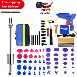 86pcs Auto Kit Hail Car Body Paintless Dent Removal Repair Tools Damage Remover