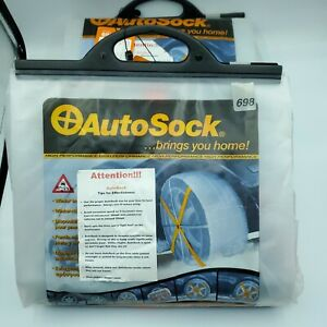 Auto Sock Autosock 698 Tire Snow Chains Chain Alternative Qty 2