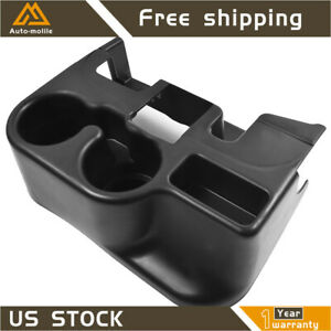 Center Console Cup Holder Attachment For 2003 12 Dodge Ram 1500 2500 3500 Black