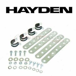 Hayden Engine Oil Cooler Mounting Kit For 1977 1980 Lincoln Versailles Fo