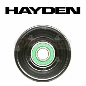 Hayden Drive Belt Idler Pulley For 1999 2003 Ford E 350 Super Duty Engine Zz