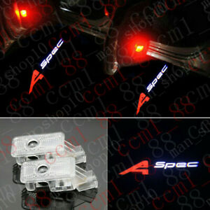 2pcs A spec Logo Led Door Courtesy Laser Projector Light For Acura Rdx 2019 2020