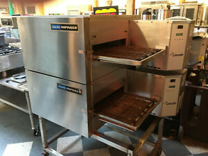 Lincoln Impinger 1132 Conveyor Oven Double Stack Electric Refurbished