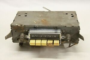Vintage 1955 1956 Pontiac Chieftain Catalina Am Push Button Radio Delco 988568