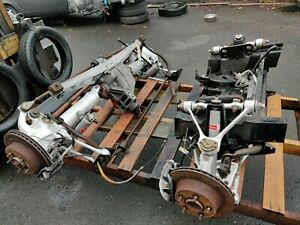 86 87 Corvette C4 Front And Rear Suspension Set With Subframe Pair L98 Nice Set