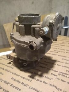 Auto Choke Rochester Single Barrel Series B Carburetor For Chevy 235 Stovebolt