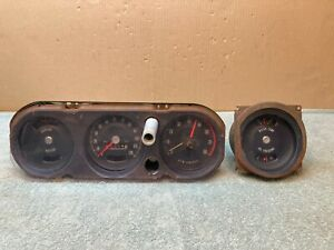 1966 66 Pontiac Gto Rally Gauges