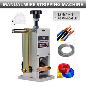 Co z Manual Scrap Wire Stripping Machine Copper Wire Peeler For Wire Recycling