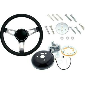 Grant 846 Classic 3 Spoke Steering Wheel 15 Inch W Install Kit
