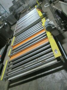 versa Conveyor H d Commercial industrial Lot Of 2 Powered Roller Conveyors