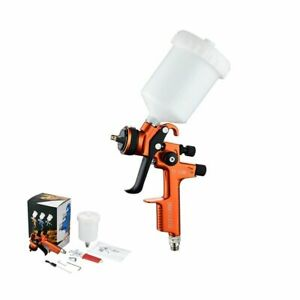 Nozzle Auto Paint For Car Us Professional Hvlp Air Spray Gun W 600ml Cup 1 3mm