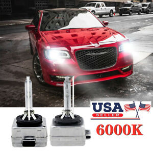 Front Hid Xenon Headlight Bulb For Chrysler 300 2011 2017 Low High Beam 2 Pack