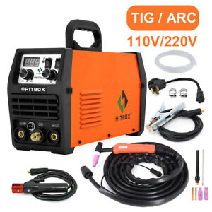 Led Hbt2000 Tig Welder Stick 200a 110v 220v Inverter Igbt Tig Welding Machine