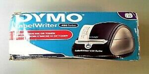 Dymo Labelwriter 450 Turbo Label Thermal Printer Black 1752265 Used See Notes