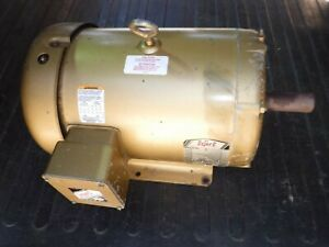Baldor 10 Hp Electric Ac Motor 208 230 460 Vac 3490 Rpm 215t Frame 3 Phase