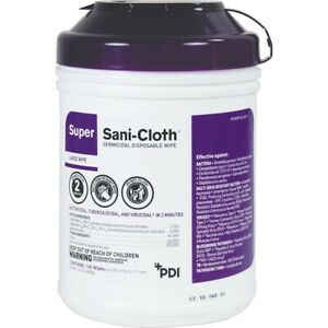 Sani Cloth Germicidal Wipes Large 160 Count