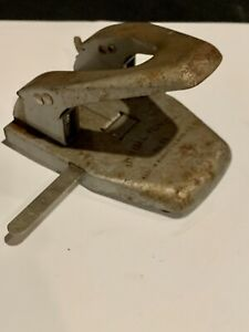 Vintage Mutual Punch Brand 2 Hole Punch Model No 50